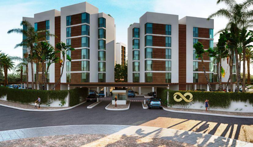 Новые недорогие квартиры в Канкуне с видом на море и лагуну