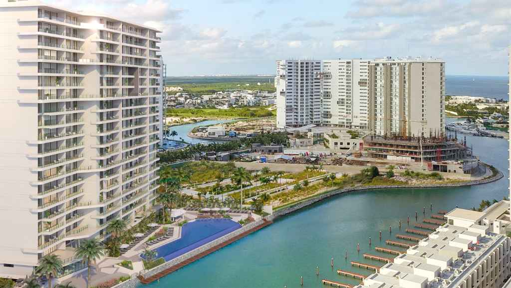 Luxury condos and penthouses for sale in Cancun