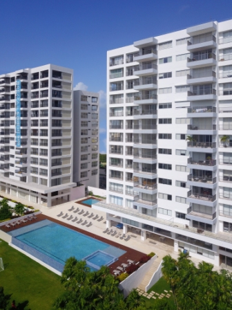 Condos for sale in BREZZA TOWERS complex in Cancun