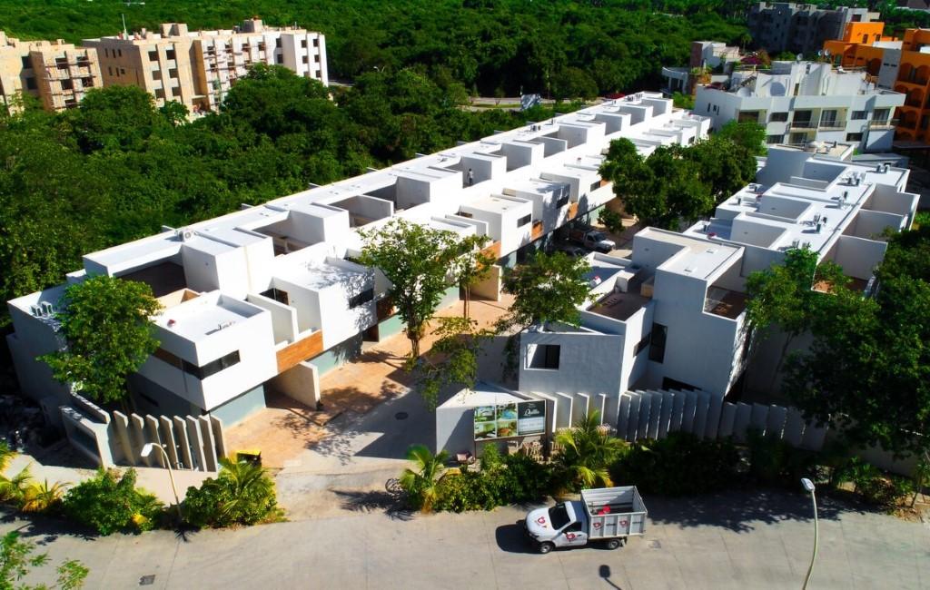 Продажа недорогих домов Плайя дель Кармен, резиденция QUILLA