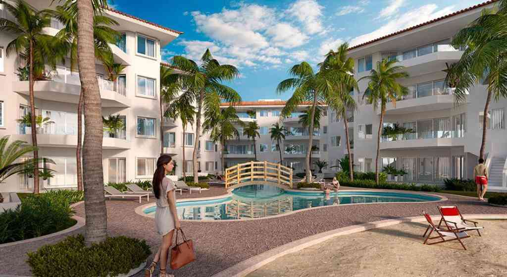 New sea view condos and apartments in Puerto Aventuras