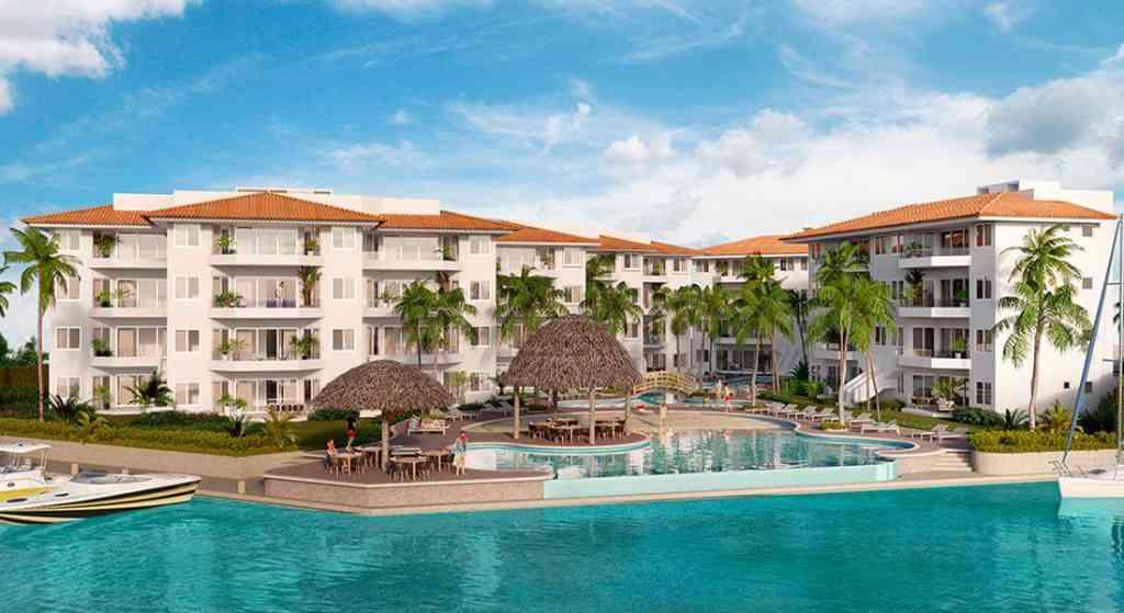 Новые квартиры с видом на море в Пуэрто Авентурас - Мексика