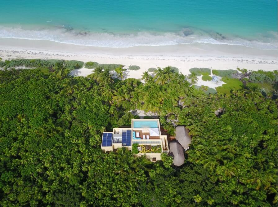 Luxury villa HACIENDA CHEKUL for rent on the beach in Tulum