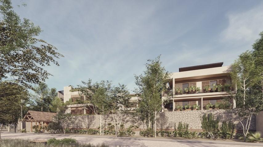 Продажа недорогих квартир и студий в Тулуме, район Ла Велета