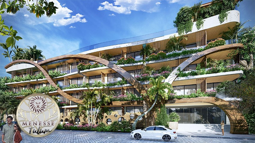 Affordable condos for sale in Menesse Tulum