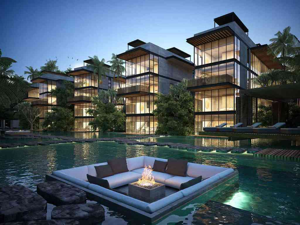 Luxury condos and penthouses for sale in Tulum