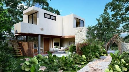 New cozy ATMAN villas for sale in Tulum
