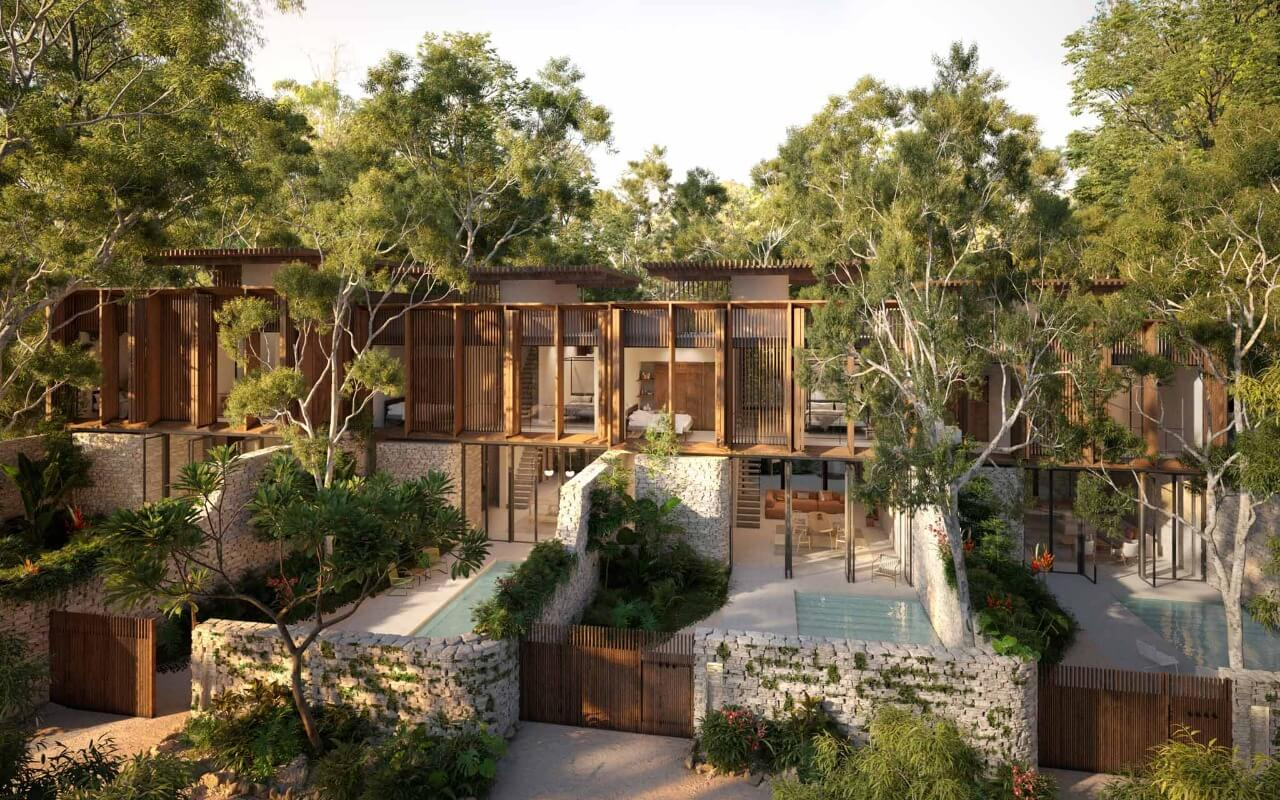 New villas and houses for sale in Tulum